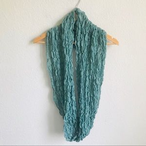 Rubbish bubble knit infinity scarf
